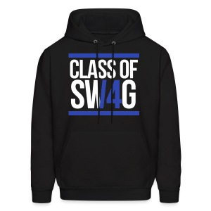 CLASS OF SWAG (14) Blue with bands - Men's Hoodie