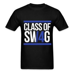 CLASS OF SWAG (14) Blue with bands - Men's T-Shirt