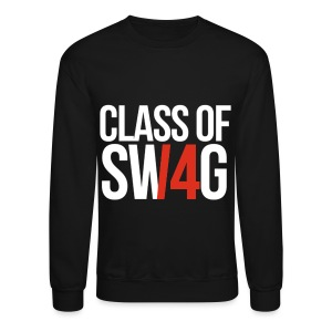 CLASS OF SWAG (14) Red no band - Crewneck Sweatshirt