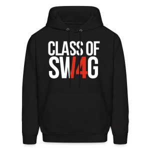 CLASS OF SWAG (14) Red no band - Men's Hoodie