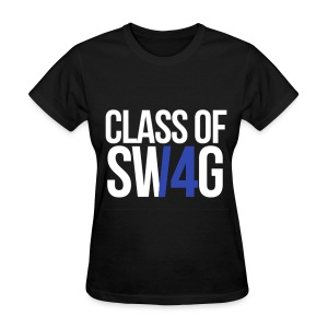 CLASS OF SWAG (14) blue no band - Women's T-Shirt