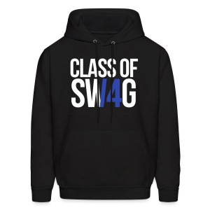 CLASS OF SWAG (14) blue no band - Men's Hoodie