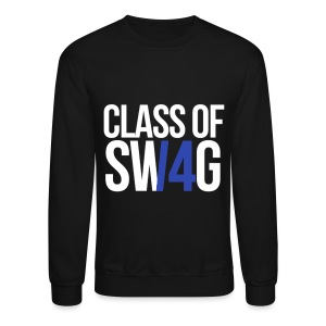 CLASS OF SWAG (14) blue no band - Crewneck Sweatshirt
