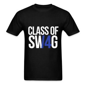 CLASS OF SWAG (14) blue no band - Men's T-Shirt