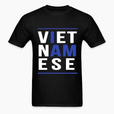 I AM VIETNAMESE (blue with bands) T-Shirts