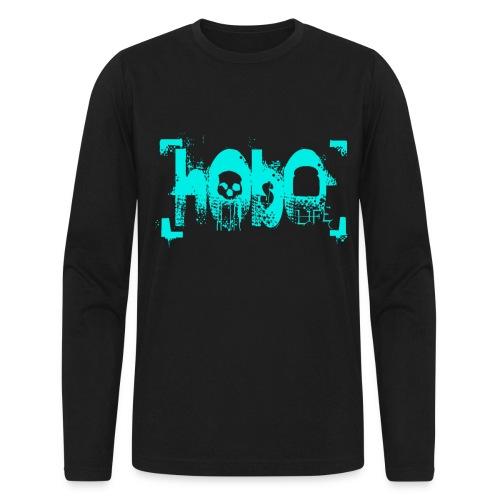 HoboLife Logo - Men's Long Sleeve T-Shirt by Next Level