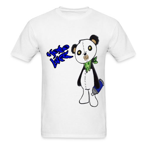 Hobo Life Panda - Men's T-Shirt