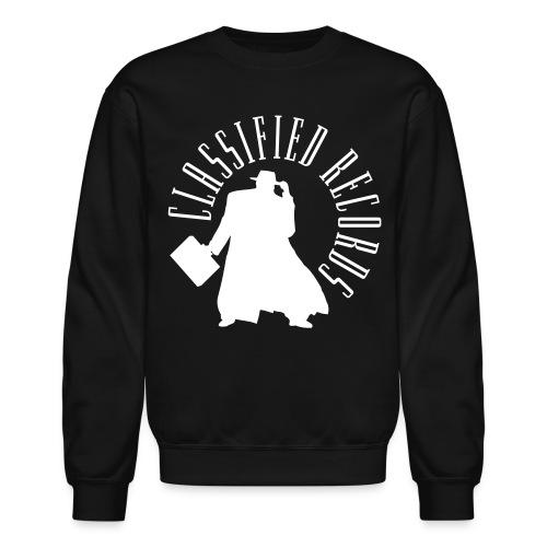 Classified Records Crewneck Sweatshirt - Crewneck Sweatshirt