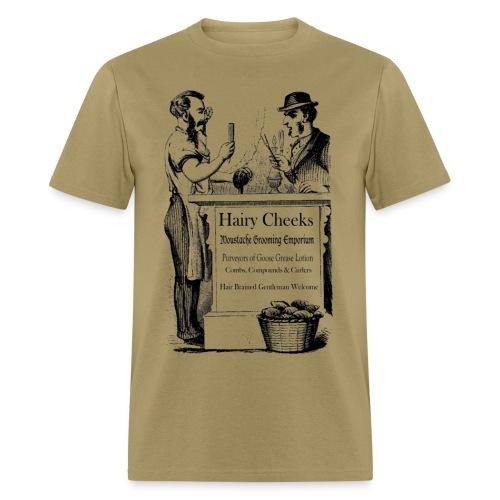 Hairy Cheeks - Men's T-Shirt