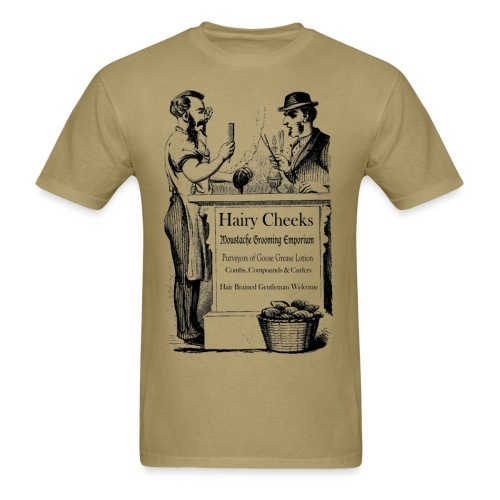Hairy Cheeks - Men's T-Shirt