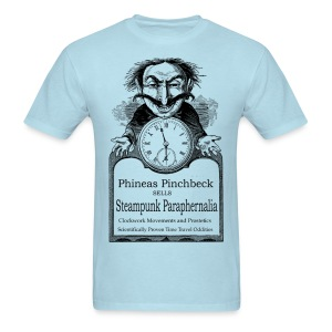Steampunk Paraphernalia - Men's T-Shirt