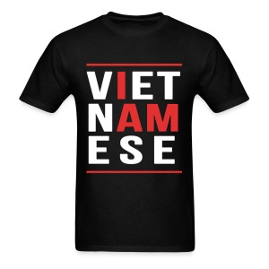 I AM VIETNAMESE (red with bands) - Men's T-Shirt