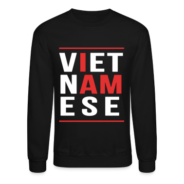 I AM VIETNAMESE (red with bands) Long Sleeve Shirts