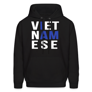 I AM VIETNAMESE (blue with no band) Hoodies