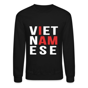 I AM VIETNAMESE (red with no band) - Crewneck Sweatshirt