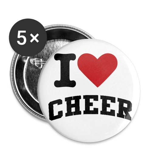 I love cheer. - Small Buttons