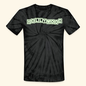 Hollywood - Unisex Tie Dye T-Shirt