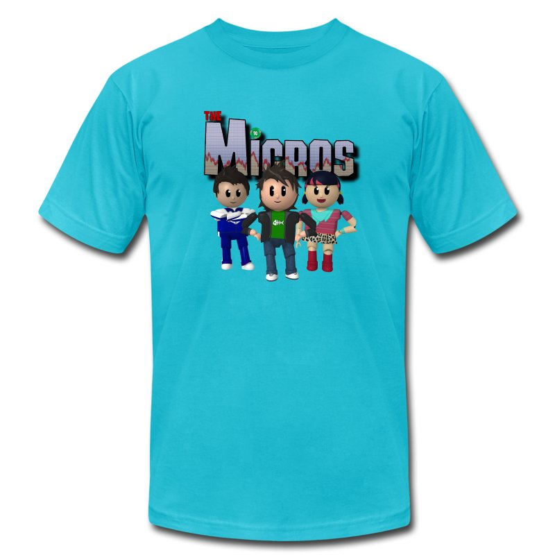Micros RunGood T - Men's T-Shirt by American Apparel
