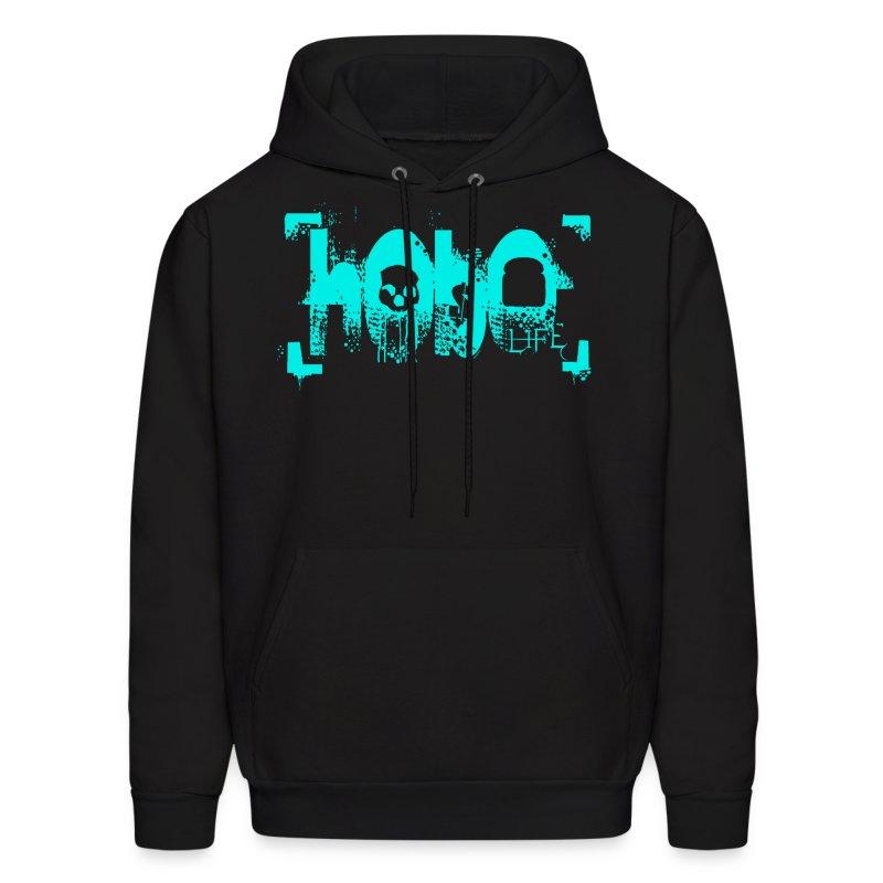 HoboLife Logo - Men's Hoodie