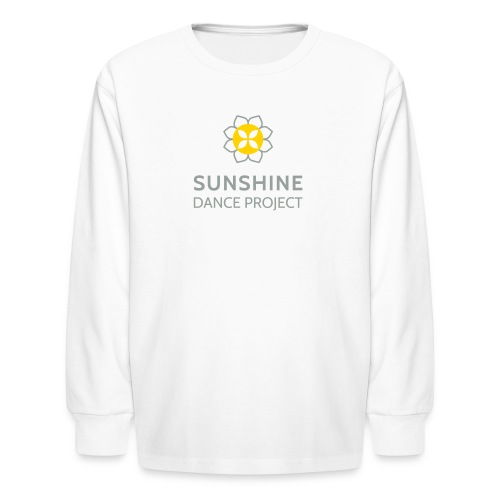 Kids SDPS Long Sleeve T Shirt in White - Kids' Long Sleeve T-Shirt