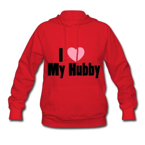 Womens I love My Hubby Tee - Women's Hoodie