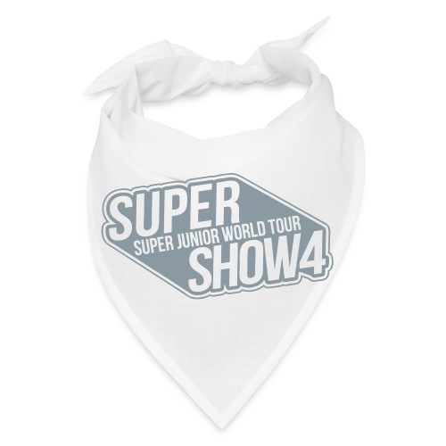 [SJ] Super Show 4 (Metallic SIlver) - Bandana
