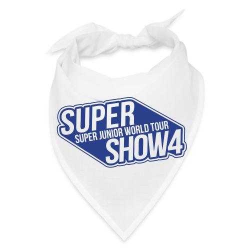 [SJ] Super Show 4 (Blue Glitter) - Bandana
