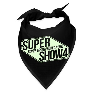 [SJ] Super Show 4 (Glow in the Dark) - Bandana