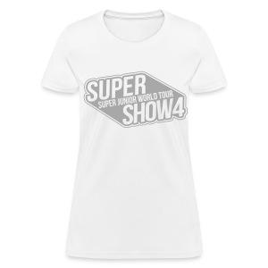 [SJ] Super Show 4 (Front Only   Silver Glitter) - Women's T-Shirt