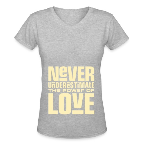 Endl3ssLOV3 - Women's V-Neck T-Shirt