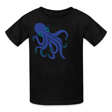 Great With 8 - Octopus Kids' Shirts