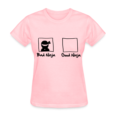 Good Ninja / Bad Ninja Women's T-Shirts