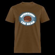 T-Shirts ~ Men's T-Shirt ~ Worship The Bean