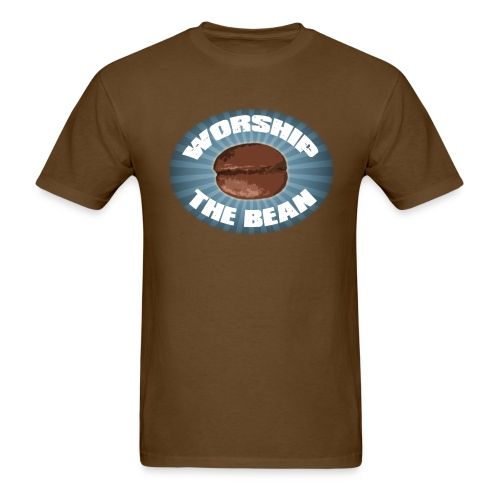 Worship The Bean - Men's T-Shirt