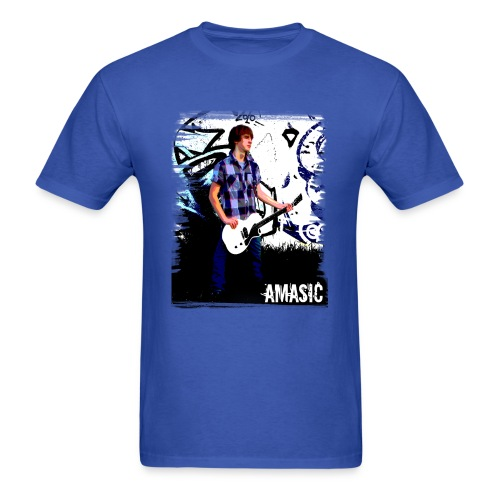 Amasic front & back - Men's T-Shirt