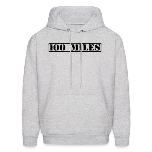 Top Secret 100 Miles Men's Hoodie - Men's Hoodie