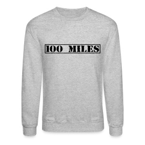 Top Secret 100 Miles Men's Crewneck Sweatshirt - Crewneck Sweatshirt