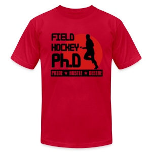 Field Hockey PH.D Men's American Apparel T-Shirt - Men's T-Shirt by American Apparel