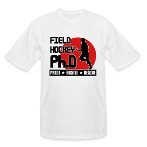 Field Hockey PH.D Men's Tall T-Shirt - Men's Tall T-Shirt
