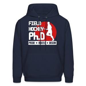 Field Hockey PH.D Men's Hoodie - Men's Hoodie