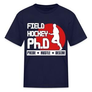 Field Hockey PH.D Children's T-Shirt - Kids' T-Shirt