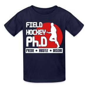 Field Hockey PH.D Children's T-Shirt - Kids' T-Shirt