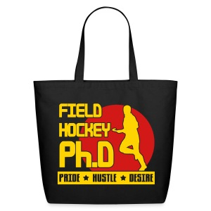 Field Hockey PH.D Cotton Tote - Eco-Friendly Cotton Tote