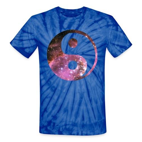 Unisex Tie Die Space Tee - Unisex Tie Dye T-Shirt
