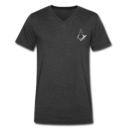Masonic T-shirt - Men's V-Neck T-Shirt by Canvas