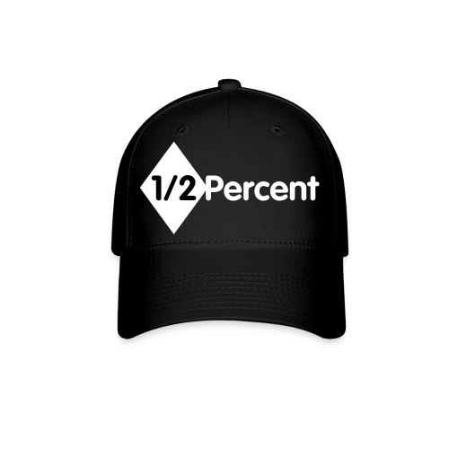 Half Percent Flex Fit Baseball Hat - Baseball Cap