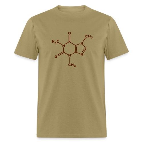 Caffeine Molecule - Men's T-Shirt