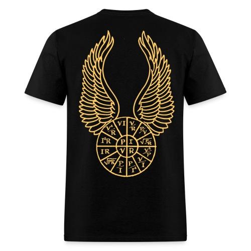 Flying PIRE wheel - Men's T-Shirt