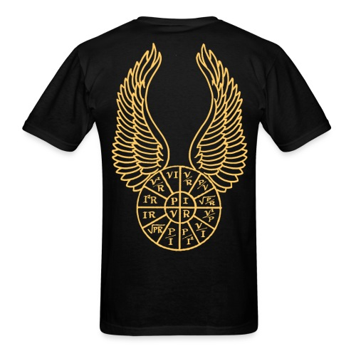 Flying PIRE wheel - Men's T-Shirt