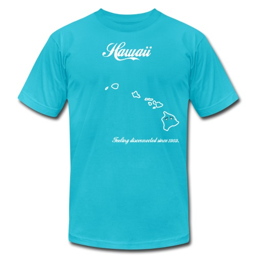 Hawaii - Feeling Disconnected - Men's  Jersey T-Shirt
